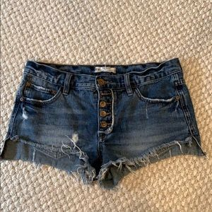 Free People Denim Shorts - 26